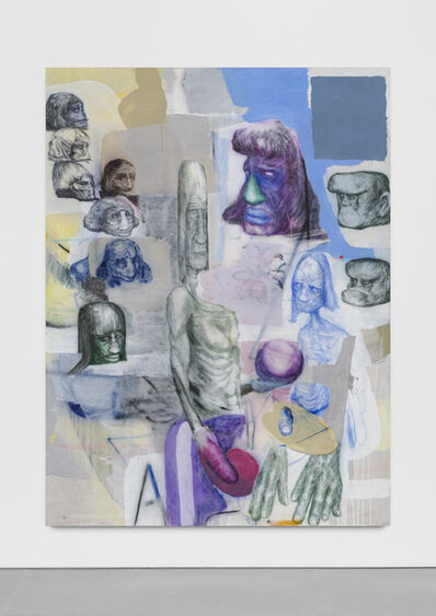 Peter Stauss, 'Maler und Modell', 2018