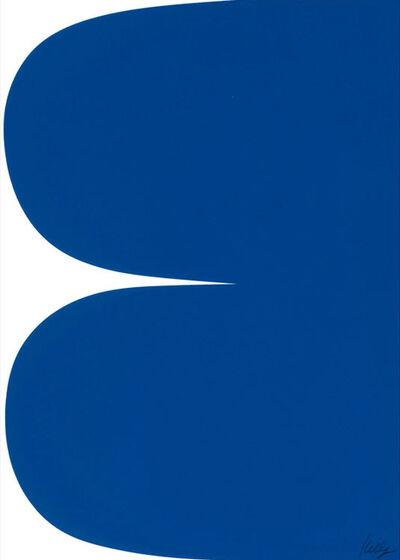 Ellsworth Kelly, 'Blue Curves', 2013