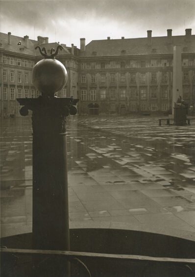 Josef Sudek, 'Third Courtyard of Prague Castle', 1950s