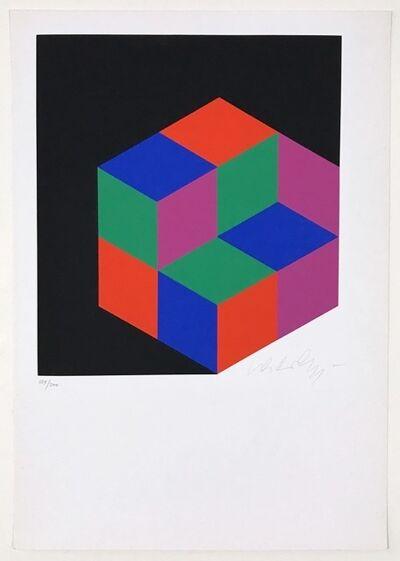 Victor Vasarely, 'Kleines Kristall', 1963