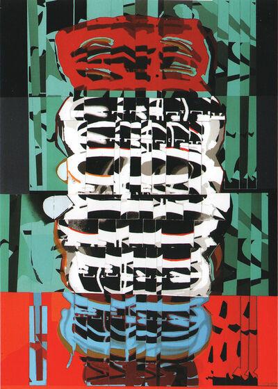 Luis Gordillo, 'Monotype 123T CN 3321', 2009-2010
