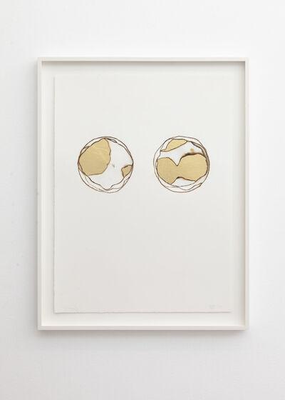 Henrik U. Müller, 'Goldbrunnen III / Gold Fountain III', 2020