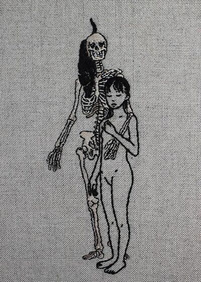 Adipocere, 'With You Now', 2018