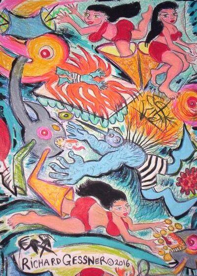 Richard Gessner, 'Fire Water Funnel Sirens', 2016