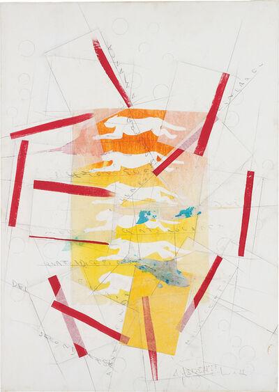 Alighiero Boetti, 'Senza Titolo (Pantere)', 1990