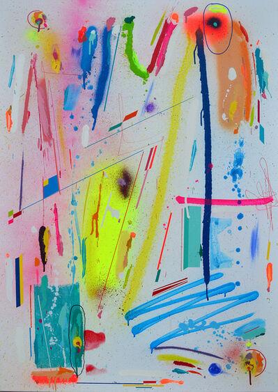 Kenor, 'Electric indigo', 2018