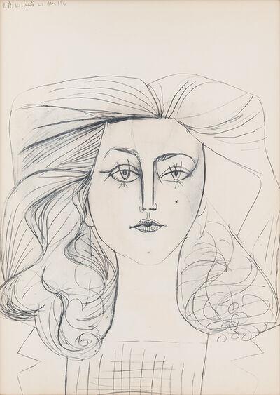 Pablo Picasso, 'Francois Gilot', 1954