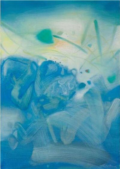 Chu Teh-Chun, 'Atmosphère bleu III', 1988