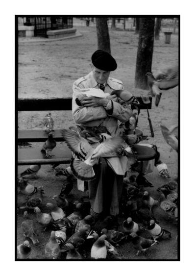 Jean Luc Olezak, 'Homme aux pigeons', 1988