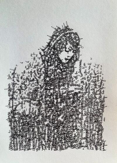Evelyn Aguilar Sánchez, 'Studies for an armor II', 2020
