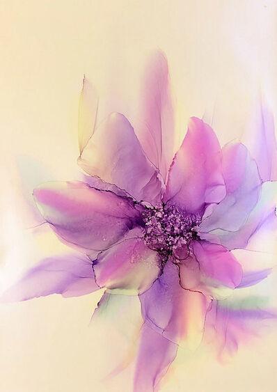 Oleg Yurov, 'Purple ephemeric Flower', 2019