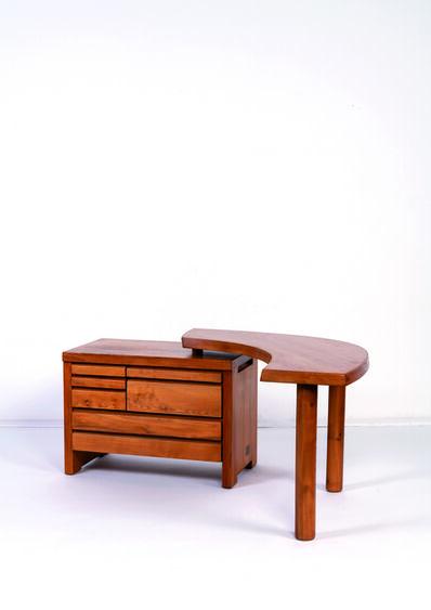 Pierre Chapo, 'B19 desk in elm', vers 1960