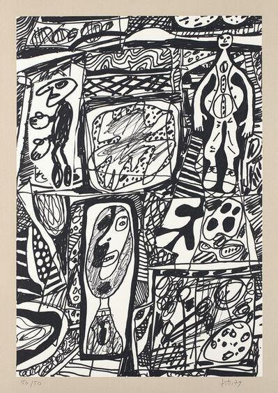 Jean Dubuffet, 'Scénario Bref (Brief Scenario)', 1979