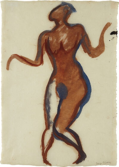 Diego Rivera, 'Dancer', ca. 1939