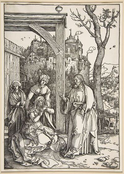 Albrecht Dürer, 'Christ Taking Leave of His Mother', ca. 1507