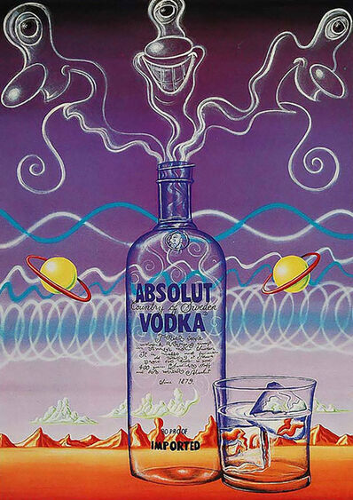 Kenny Scharf, 'ABSOLUT VODKA', 1987