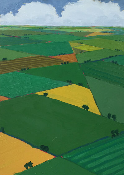 John Karl Claes, 'High Summer Greens'