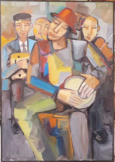 Alex Khattab, 'Music for Peace', 2017