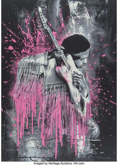 Mr. Brainwash, 'Jimi Hendrix (Pink)', 2015