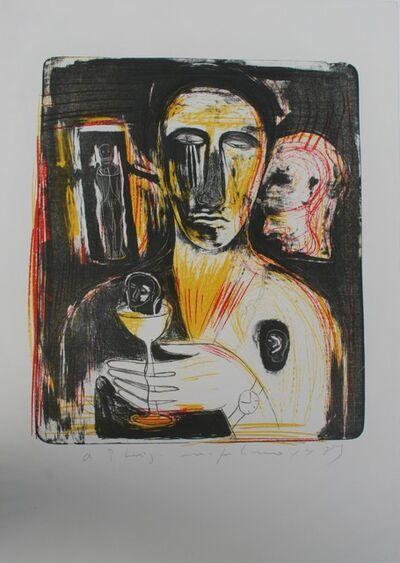 Mimmo Paladino, 'Como in Uno Specchio', 1989