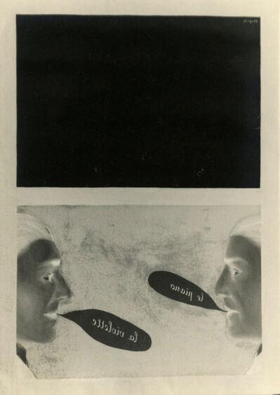 René Magritte, 'L'Usage de la parole', 1928