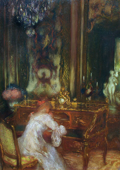 Gaston La Touche, 'La Lettre', Late 19th Century
