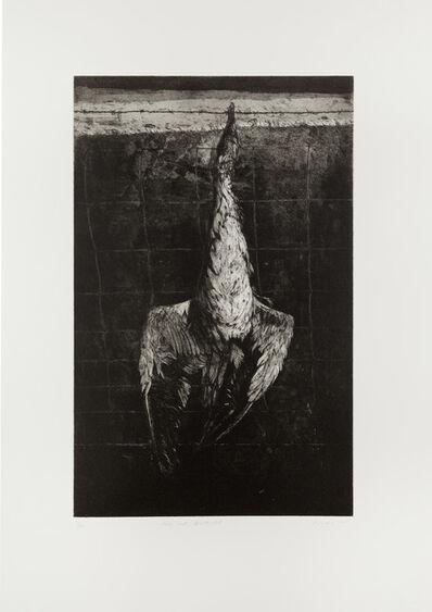 Ken Currie, 'Hung Gull, North Uist', 2015