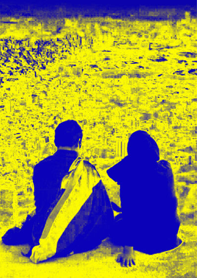 Firouz Farmanfarmaian, 'Tehran Lovers Part 6', 2015