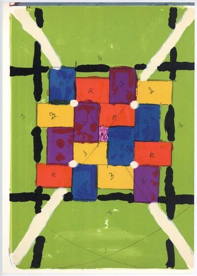Alfred Jensen, 'Puzzle I', 1964