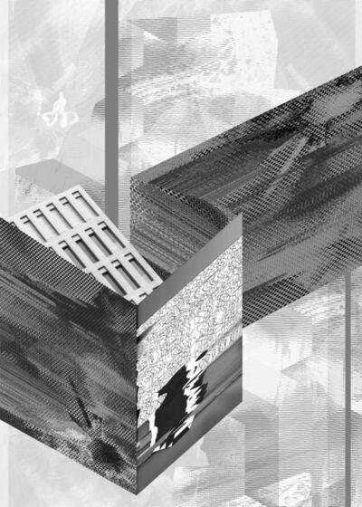 Ewa Doroszenko, ' Immaterial urban space I', 2014