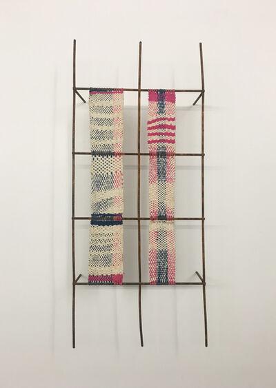 TERESA LANCETA, 'Traza (Rosa y azul)', 2007