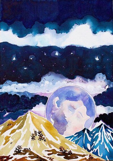 Freya Douglas-Morris, 'The kissing moon', 2019