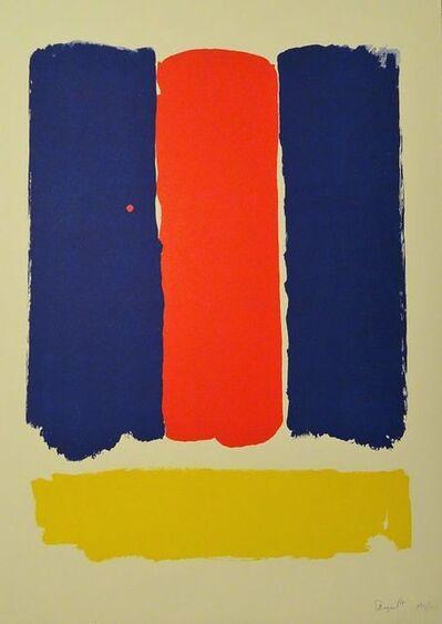 Bram Bogart, 'Abstract Composition', 1969