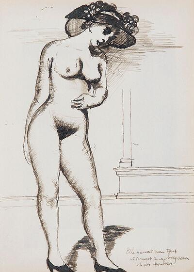Paul Delvaux, 'Nu aux escarpins', Unknown