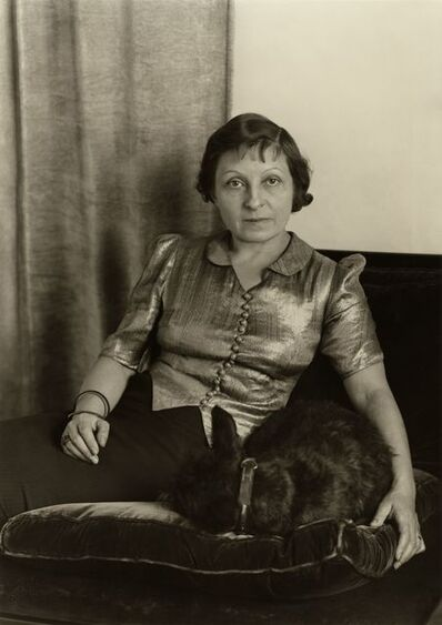 August Sander, 'Frau eines Architekten (Ada Riphahn) (Architect's Wife [Ada Riphahn])', 1931 (printed 1937)