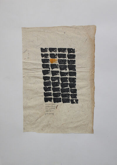 Hassan Sharif, 'Yellow no.4', 2008