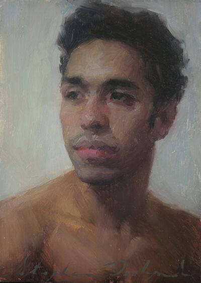 Stephanie Deshpande, 'Portrait of Christian Blue', 2021