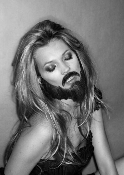 Inez & Vinoodh, 'Kate with a Beard', 2005