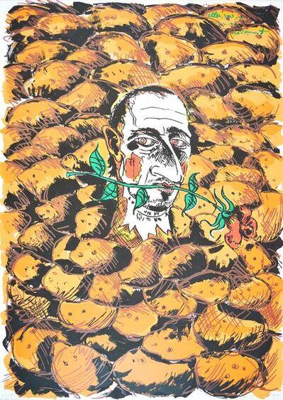 Jörg Immendorff, 'Alles was Ihr von mir bekommt 1995', 1990-2000