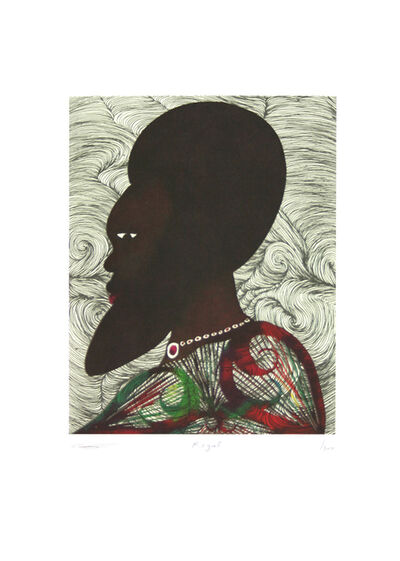 Chris Ofili, 'Regal', 2000