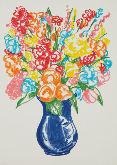Jeff Koons, 'Flowers', 2001