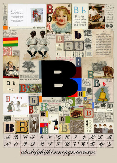 Peter Blake, 'The Letter B', 2007