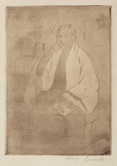 Mary Cassatt, 'Portrait of the Artist's Mother', ca. 1889