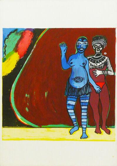 Corneille, 'Hommage à Léopold Senghor (Tribute to Léopold Senghor)', 1974