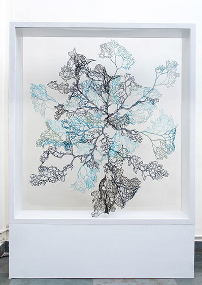 Sumakshi Singh, 'Blue Coral', 2017