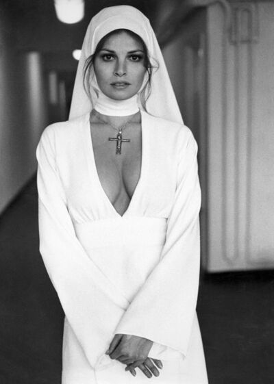 Terry O'Neill, 'Raquel Welch Nun, 1972', 1970-1979
