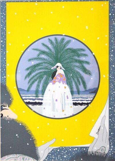 Erté (Romain de Tirtoff), 'Riviera', 1979
