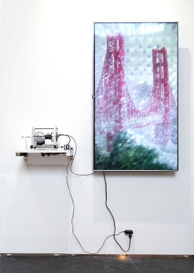 James Clar, 'Simulation of a Simulation (San Francisco)', 2017
