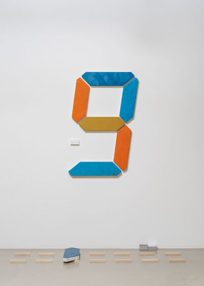 Tatsuo Miyajima 宮島 達男, 'Painting of Change - 008', 2020