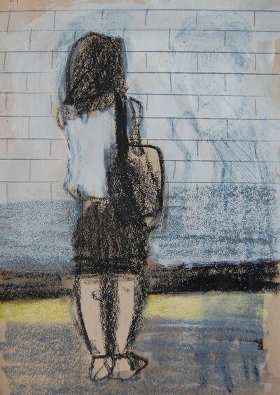 Patrick Jewell, 'White Top and Black Skirt (Platform)', 2017